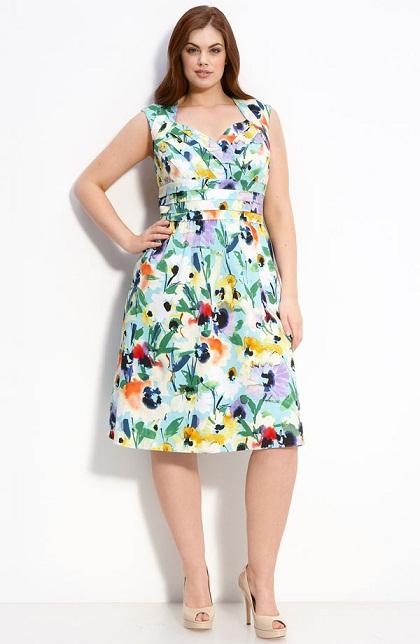 """6 kiểu váy thu cho chị em """"ngoại cỡ"""" - 6"""