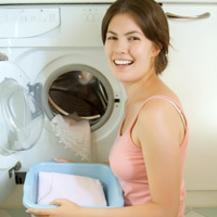 """Xử lý """"lỗi"""" cho máy giặt lồng ngang"""