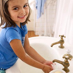 Thói quen tốt giúp con trẻ khỏe mạnh