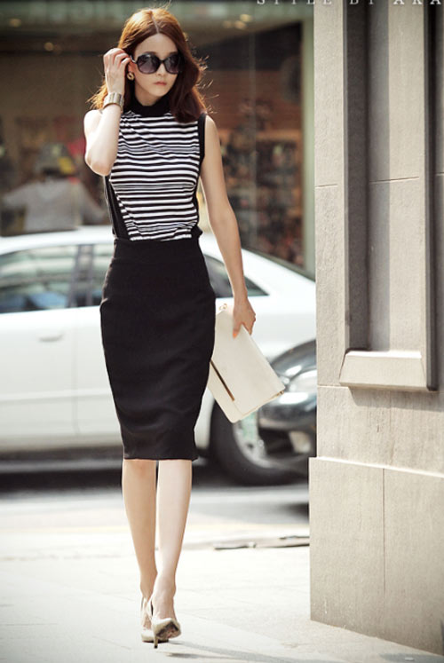 Các kiểu chân váy cho các nàng