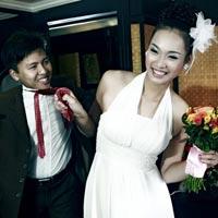 Lộ ảnh cưới của giải vàng Siêu mẫu 2011 Vương Thu Phương