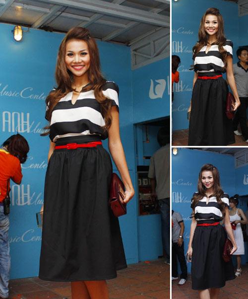 'Lật tẩy' gu thời trang của siêu mẫu Thanh Hằng - 1