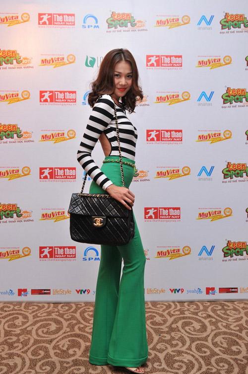 'Lật tẩy' gu thời trang của siêu mẫu Thanh Hằng - 5