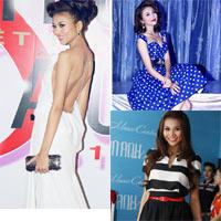 'Lật tẩy' gu thời trang của siêu mẫu Thanh Hằng