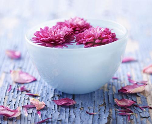 Da mịn với hai loại nước hoa hồng tự chế - 2