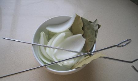 Vừa ăn vừa thổi: thịt cuộn xiên nướng - 4