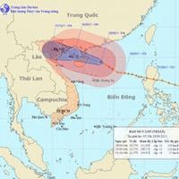 Sáng mai, bão số 5 đổ bộ vào Bắc Bộ