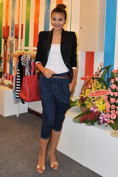 Sao Việt nào mặc jeans đẹp nhất? - 1