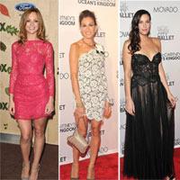 15 chiếc váy ren đẹp nhất của sao