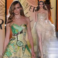 Versace mở màn Tuần lễ thời trang cao cấp