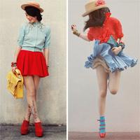 Eva Icon: Cô nàng Nhật Bản 'cuồng' gam đỏ