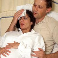 Cùng vợ chuyển dạ