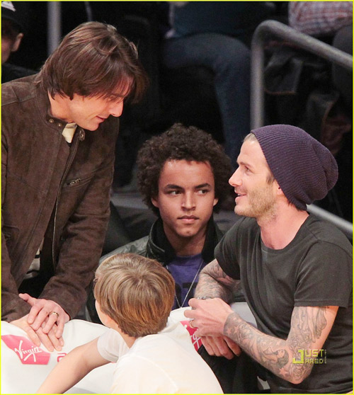 Ng trm nh &quot;thn mt&quot; ca Tom v Beckham - 11