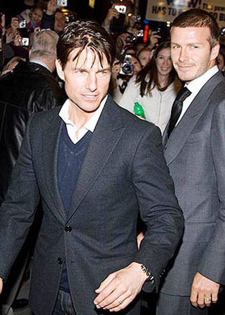 """Ngó trộm ảnh """"thân mật"""" của Tom và Beckham - 1"""