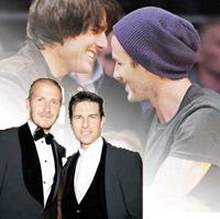 """Ngó trộm ảnh """"thân mật"""" của Tom và Beckham"""