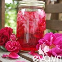 Nhật ký Hana: Đẹp da với dấm hoa hồng