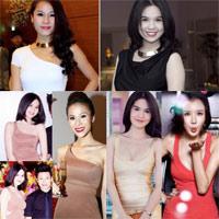 Choáng với kì tích 'đụng' váy của Thái Hà