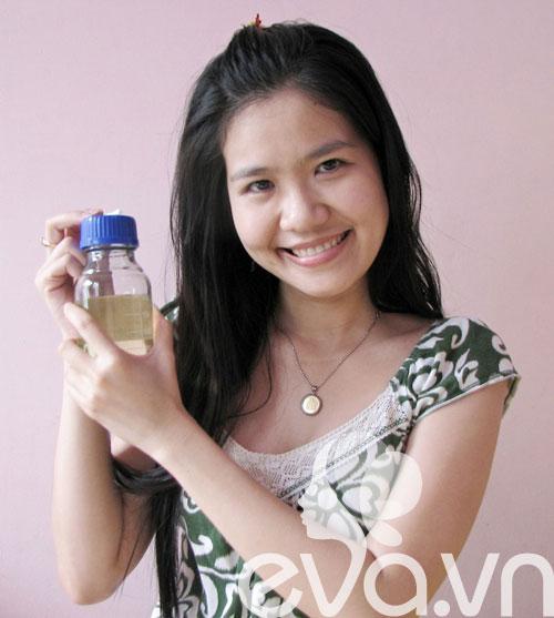 Nhật ký Hana: Dưỡng da với dầu dừa - 1