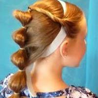 Kiểu tóc công chúa cho bé múa, bé ca