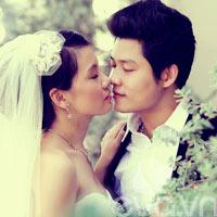 Ảnh cưới ngọt ngào của NS Nguyễn Văn Chung