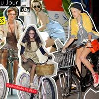 Khi người đẹp mặc đồ xinh, vi vu xe đạp