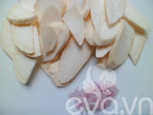 Nấm đùi gà xào bơ - 2
