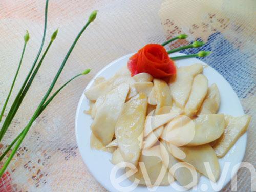 Nấm đùi gà xào bơ - 5