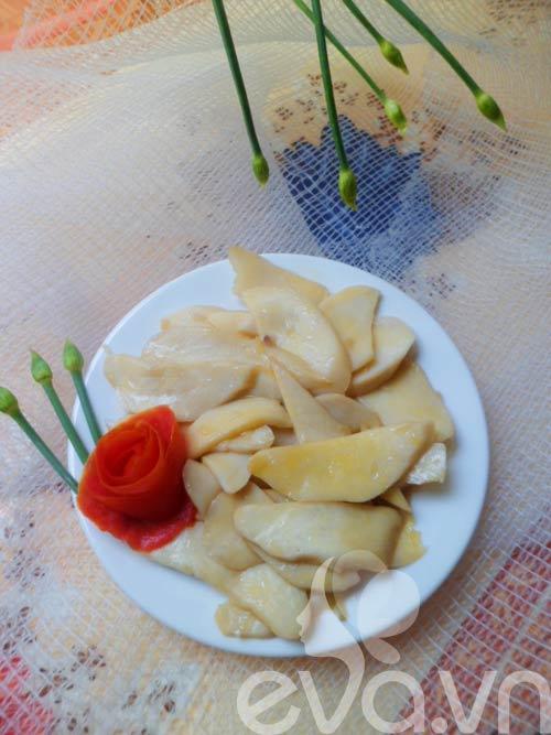 Nấm đùi gà xào bơ - 6