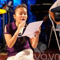 Cẩm Ly mặt mộc tập hát cùng Đàm Vĩnh Hưng