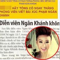 Trang web tuổi teen bị đánh sập vì... Ngân Khánh?
