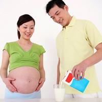 Giúp mẹ bầu uống sữa dễ dàng hơn