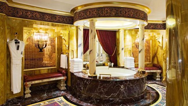 Vòng quanh phòng tắm khắp thế giới
