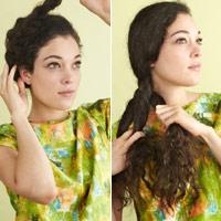2 cách làm đẹp cho tóc xù mì