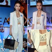 Mặc áo crop top kín đáo như Yến Trang