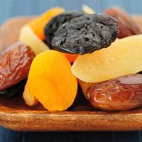 Dinh dưỡng trong hoa quả sấy khô