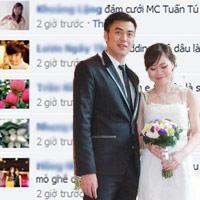 Vợ MC Tuấn Tú xôn xao cộng đồng mạng