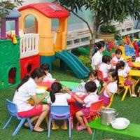 Trường mầm non giúp trẻ phát triển toàn diện