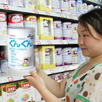 Sữa Nhật được rất nhiều bà mẹ Việt tin dùng