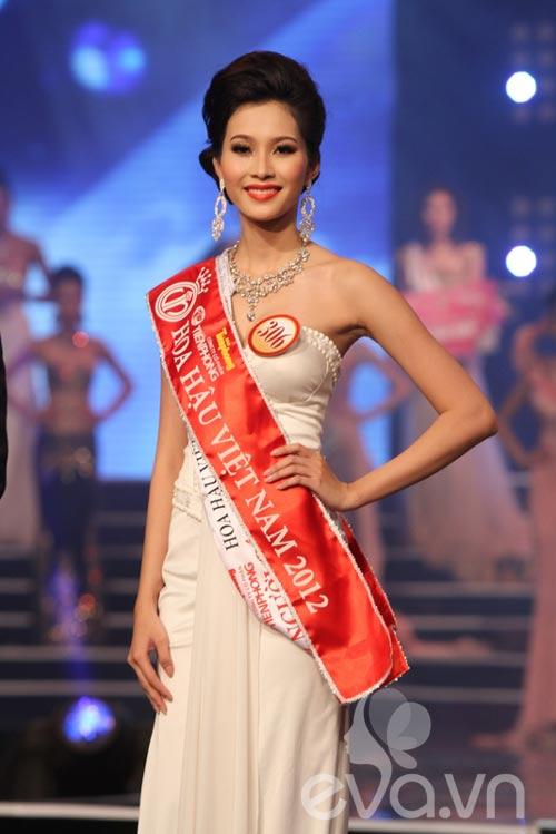 Đặng Thu Thảo đăng quang ngôi HHVN 2012 - 1