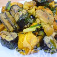 Lươn xào chuối đậu cuối tuần