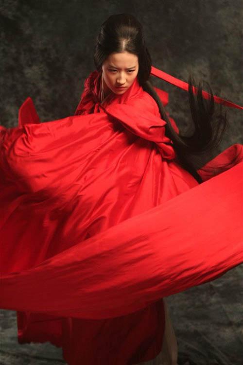 Mỹ nhân Hoa ngữ đẹp mê hồn với sắc đỏ - 2
