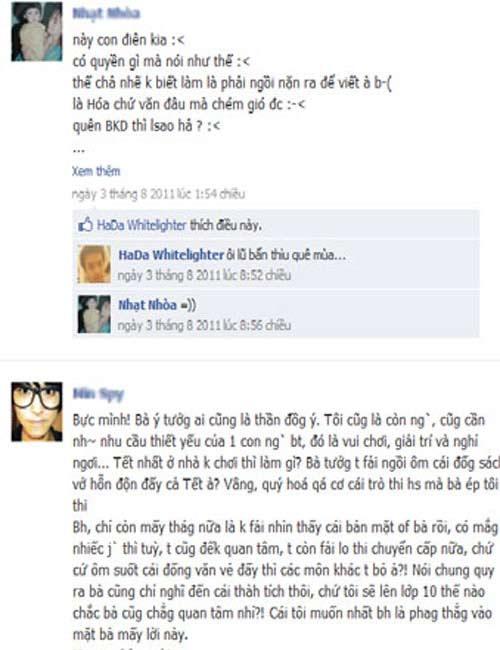 Bức xúc nghe trò nói xấu trên Facebook - 1