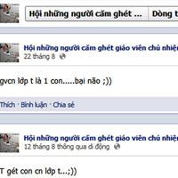 Bức xúc nghe trò nói xấu trên Facebook