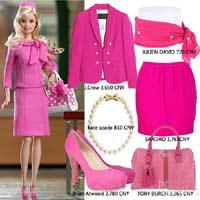 Mặc dễ thương như búp bê Barbie