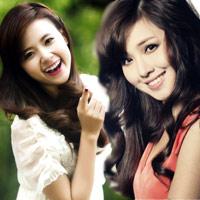 Tóc xoăn đẹp như hotgirl Việt