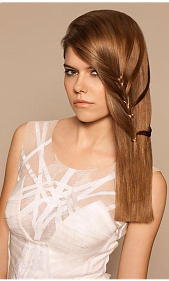 Các kiểu tóc duỗi tự nhiên đẹp nhất 2012 - 1