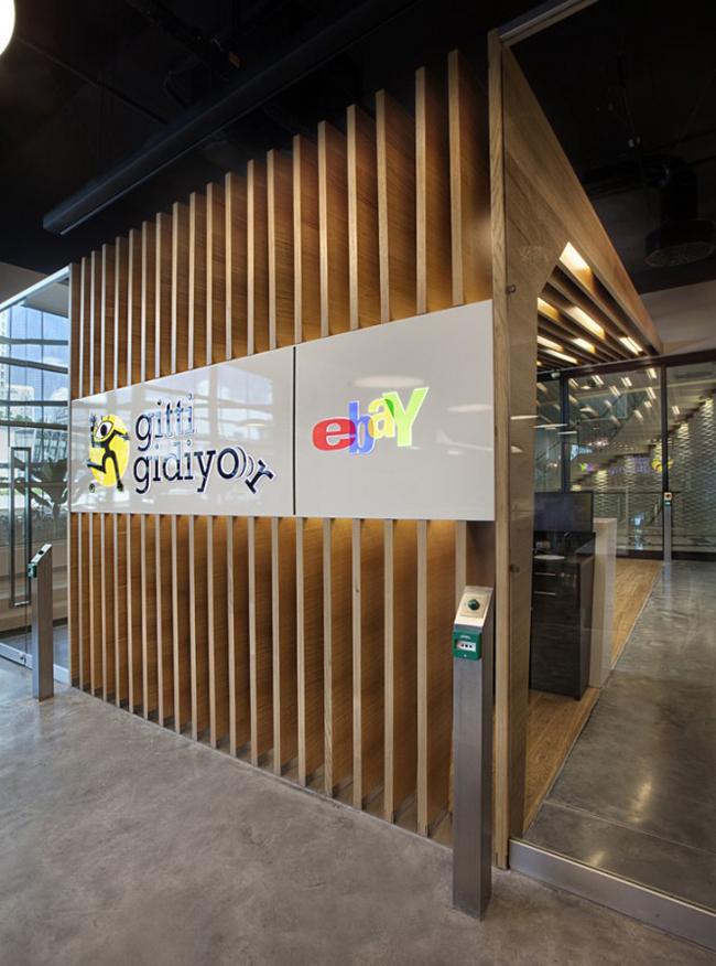 Đây là trụ sở tại Thổ Nhĩ Kỳ của trang đấu giá trực tuyến hàng đầu thế giới eBay.