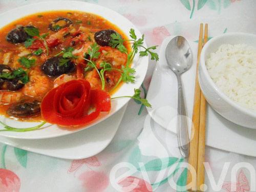 Ngon cơm với tôm rán xốt cà chua - 9