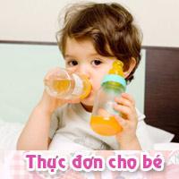 Nước cam ngon cho bé tiêu hóa tốt