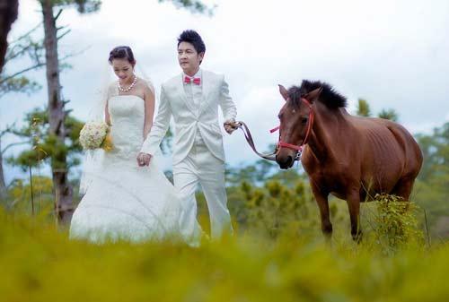 Ảnh cưới lãng mạn của Diệp Bảo Ngọc - 9